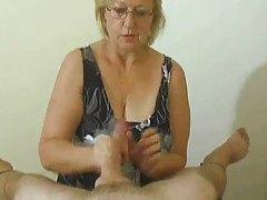 Lusty handjob compilation with big cumshot tubes
