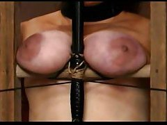 Her tits are punished hard and they hurt tubes