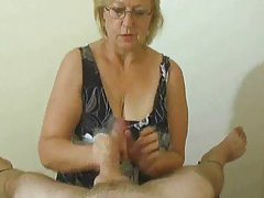 Handjob compilation with fun cumshots tubes