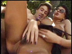 Anal hardcore outdoors for girl in glasses tubes