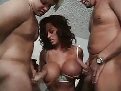 Huge titties on milf turn the guys on tubes