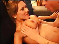 Two ladies strip for him and they have threesome tubes