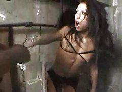 Girl in black lingerie anal sex tubes