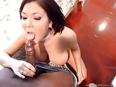 Big titty white babe fucked by ebony cock tubes