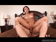 Pretty milf with big tits pumped hard tubes