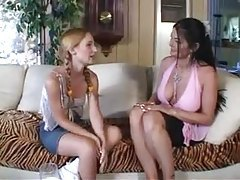 Milf and teen go black for hot fun tubes