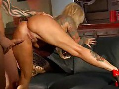 Tattooed Janine Lindemulder having hardcore sex tubes