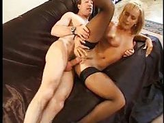 Milf gives up her pussy and asshole tubes