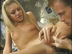 Driving anally into a pretty blonde girl tubes