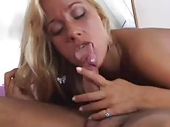 All over the bed with a Brazilian blonde tubes