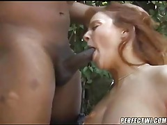 Black dude nails her hot mature pussy tubes