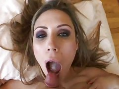 Cumshot compilation mostly in the mouth tube
