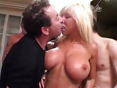 Guys gangbang the hot mature blonde tubes