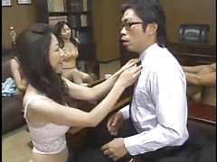 Japanese teachers fucked in group scene tubes