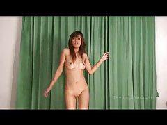 Thai chick bikini striptease and dance tubes