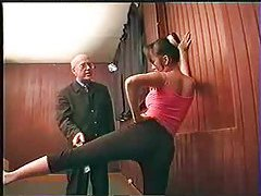 Old dude gets to fuck a nice young slut tubes