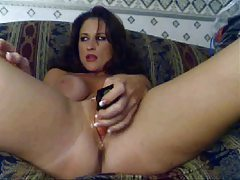 Milf has anal dildo sex on her webcam tubes