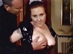 Shiny French maid fucked by a stud tubes