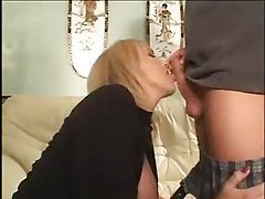 Blonde mature wants to blow his cock tubes