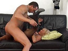 Blonde German mature and her lust for cock tubes