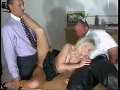 Slut is happy to make both men feel good tubes