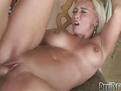 Cumming on blonde slut after good fuck tubes