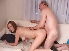 Grandpa and a sweet young lady fuck tubes