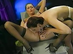Classic porn scene with perfect lesbians tubes
