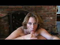 Milf helps him out with POV blowjob and handjob tubes