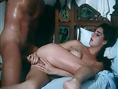 Sensual classic scene with kissing and screwing tubes