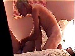 Older amateur couple doing fuck video tubes