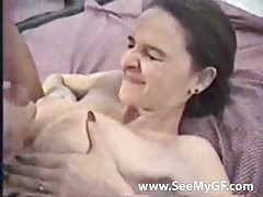 Pretty amateur fucked before he cums tubes