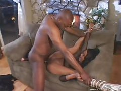 Black slut boned by big black cock tubes