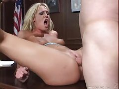 Lusty jailbird getting fucked by the warden tubes