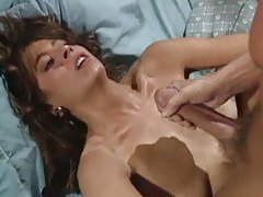 Classic pornstar Christy Canyon taking cumshots tube