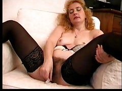 Hairy pussy mature gives you a show tubes