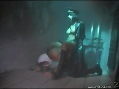 Fantastic fetish fucking in a prison tubes