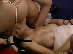 Naughty bride having vampire threesome sex tubes