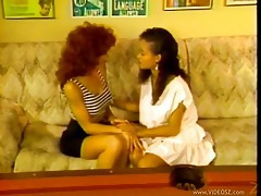 Old school interracial lesbian porn with dildos tubes
