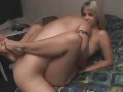 He fucks his naughty blonde girlfriend tubes