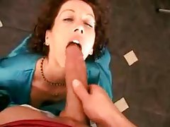 Housewife in satin robe fucked at home tubes