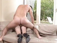 French girl in shiny boots fucked hard tubes