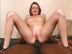 Ass fucked white girl takes cumshot tubes