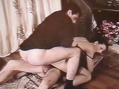 Classic porn with Italian girl in a DP tubes