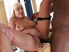 The ladies try out his monster black dick tubes