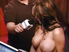 Tattooed girl gets naked on Howard Stern tubes
