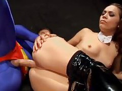 Justice League superhero costume sex movie tubes