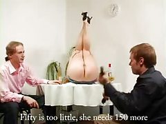 Waitress is spanked for doing a bad job tubes