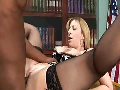 Office babe fucked by a young black man tubes