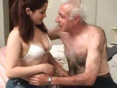 Old man fucks a sweet young thing tubes